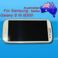 Samsung Galaxy S3 i9300 LCD and touch screen assembly with frame [White]